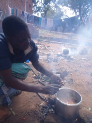 Traditional cooking lessons, Malawi
