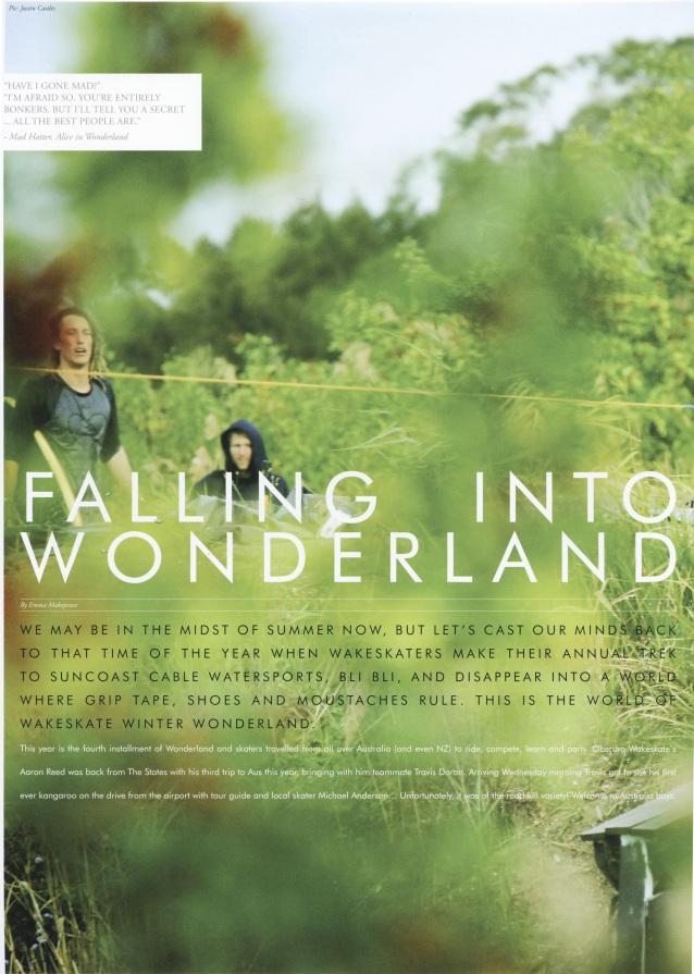 Wakeskate Winter Wonderland: Wake Mag 2011