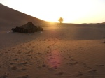 Sunrise Western Sahara, Morocco