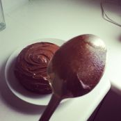 chocolate cake spoon