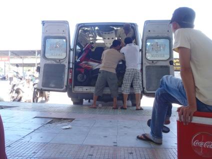 On a mission: Kon Tum Bus Journey