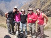 The Oz South African Family, Dead Woman's Pass, Inca Trail, Peru