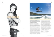 Bec Gange: Boarder Magazine