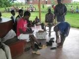 TOMS shoe distribution at CHOC